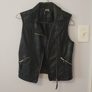 H&M Faux Leather Vest
